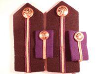 BP Tankers Shoulder Boards and Collar Tabs
