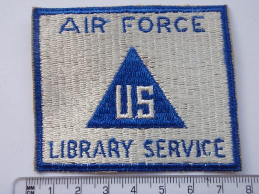 WW2 U.S Air Force Library Service Patch