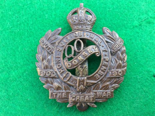 Queens Own Dorset Yeomanry ( post 1920) cap badge