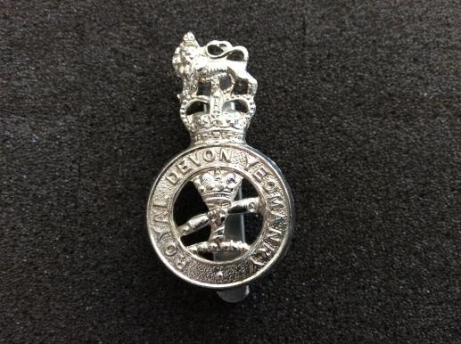 Royal Devon Yeomanry Anodised Cap Badge