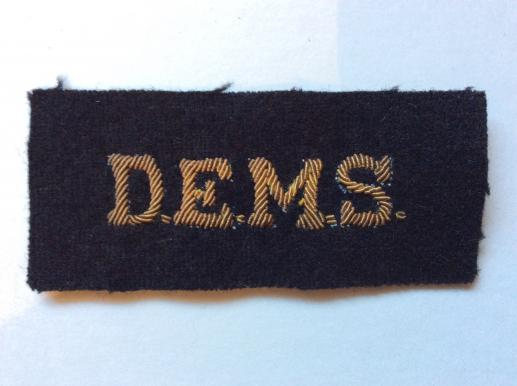 WW2 D.E.M.S ( Defensively Equipped Merchant Ships) badge
