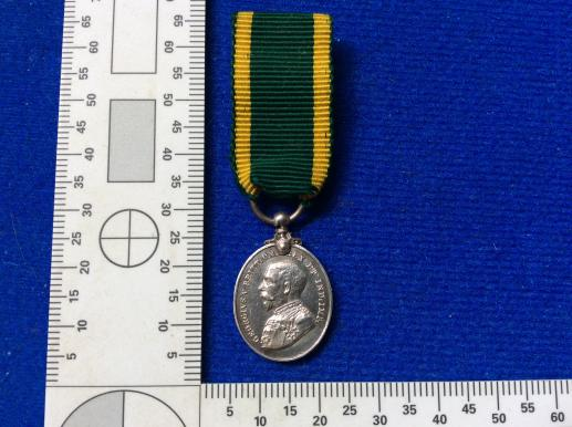 Miniature T.E.M 1921-30 Mounted for wear