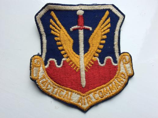 USAF Tactical Air Command Sleeve Patch ( early example)