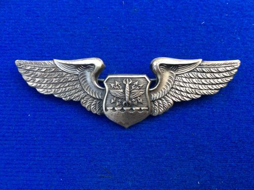 1950 issue US Air Force Navigators Wings ( British Made)
