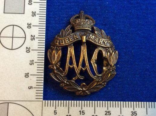 WW1 Queen Mary's Auxiliary Army Corps OSD Collar