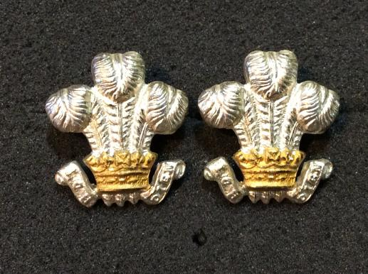 The Lancashire Regiment ( Prince Of Wales Volunteers) Officers Collars