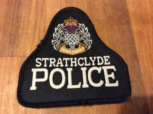 Strathclyde Police Uniform patch