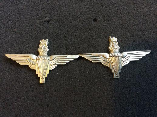K/C Parachute Regiment Collar badges