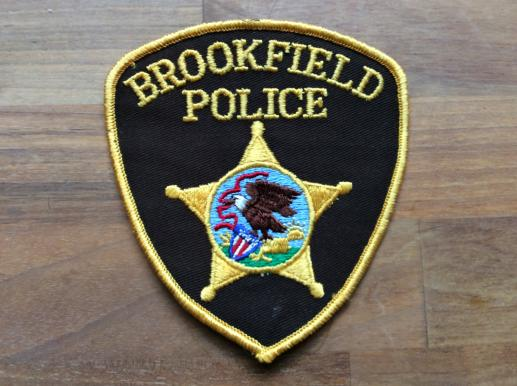 BROOKFIELD Police Shoulder patch